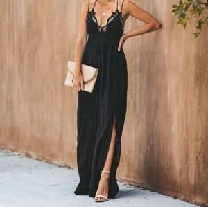 NWT Gorgeous long black dress